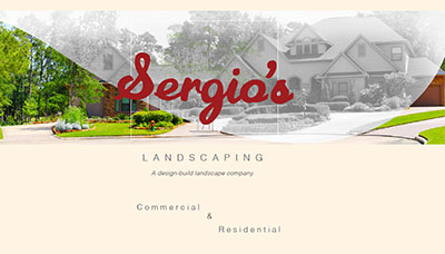 Sergio's Landscaping Design Booklet
